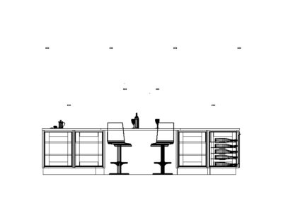 Elevation bar side