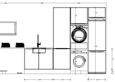 Elevation laundry 1