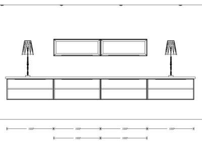 Elevation sideboard