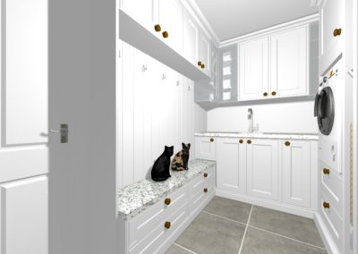 Perspective Utility room trc